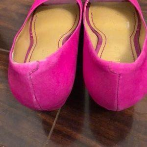 Nine West Shoes - Nine West raspberry pink wedges